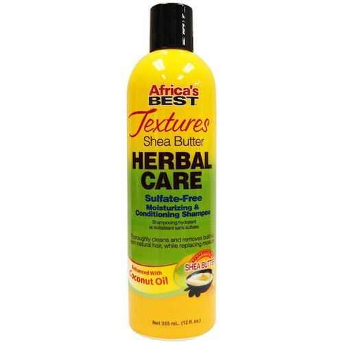 Africa's Best Textures Herbal Care Moisturizing & Conditioning Shampoo - 355ml