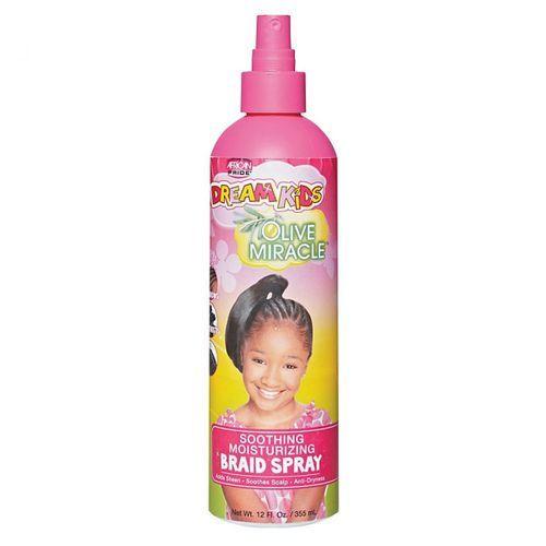African Pride Dream Kids Soothing Moisturizing Braid Spray - 355ml