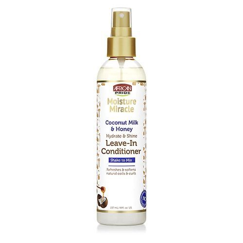 African Pride Moisture Miracle Coconut Milk & Honey Leave-in Conditioner - 237ml