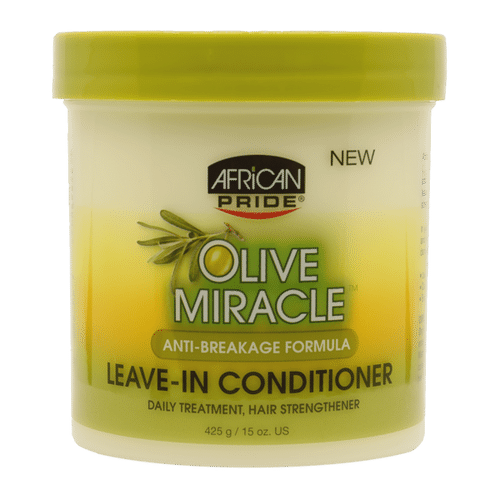 African Pride Olive Miracle Anti-Breakage Leave-In Conditioner - 425g