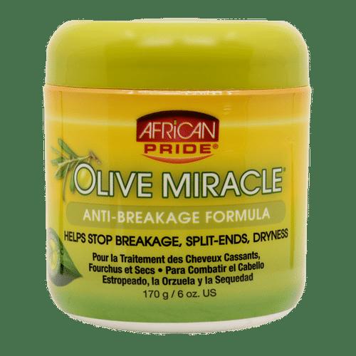 African Pride Olive Miracle Anti-breakage Creme - 170g