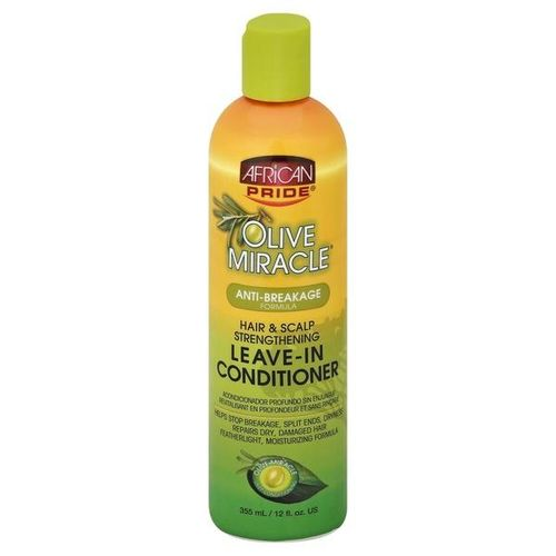 African Pride Olive Miracle Anti-breakage Hair & Scalp Strengthening Leave-in Conditioner - 355ml