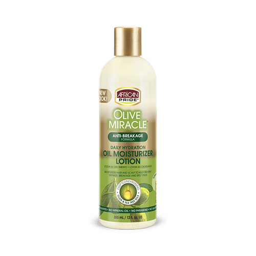 African Pride Olive Miracle Anti-breakage Oil Moisturizer Lotion - 355ml