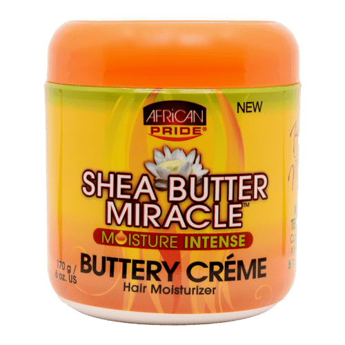 African Pride Shea Butter Miracle Moisture Intense Buttery Creme - 170g