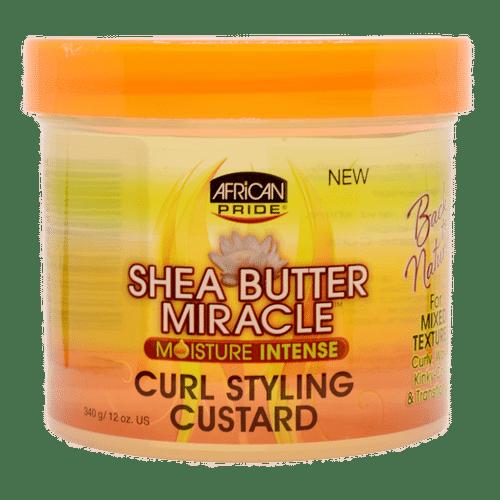 African Pride Shea Butter Miracle Moisture Intense Curl Styling Custard - 340g