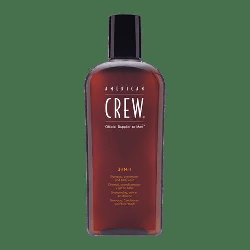 American Crew 3-in-1 Shampoo Conditioner and Body Wash 250ml