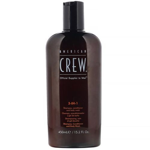 American Crew 3-in-1 Shampoo Conditioner and Body Wash 450ml