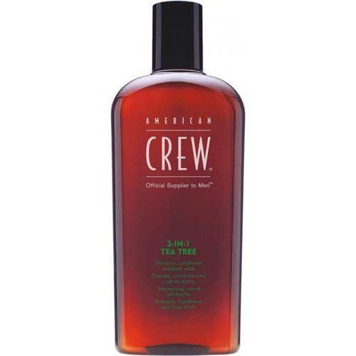 American Crew 3-in-1 Tea Tree Shampoo Conditioner & Body Wash 450ml