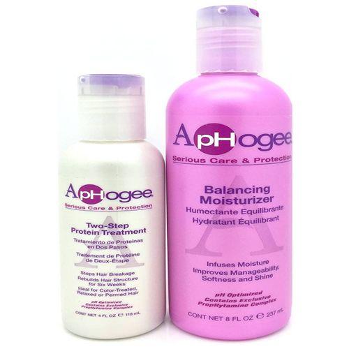 ApHogee Two-Step Protein Treatment & Balancing Moisturizer 4oz - 8oz