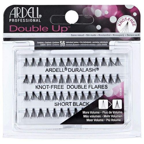 Ardell Double Individuals Knot Free Double Flares - Black Short