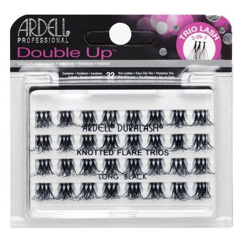 Ardell Double Up Knotted Flare Trios - Black Long