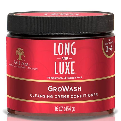 As I Am Long And Luxe Growash - 454g