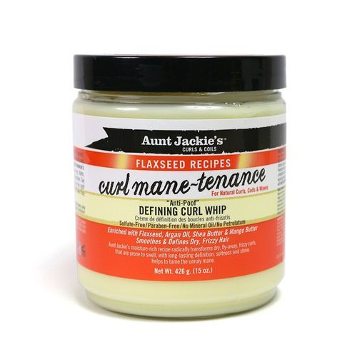 Aunt Jackie's Flaxseed Recipes Curl Mane-tenance Defining Curl Whip 15oz