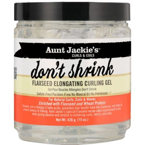 Aunt Jackie's Don't Shrink Flaxseed Elongating Curling Gel - 15oz