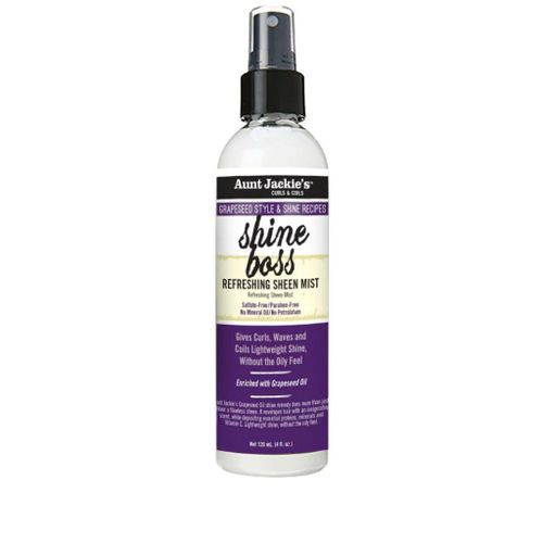 Aunt Jackie's Grapeseed Shine Boss Refreshing Sheen Mist - 4oz