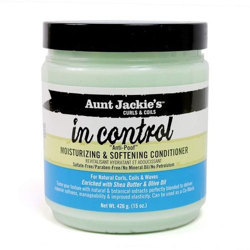 Aunt Jackie's In Control Anti-Poof Moisturizing & Softening Conditioner - 15oz