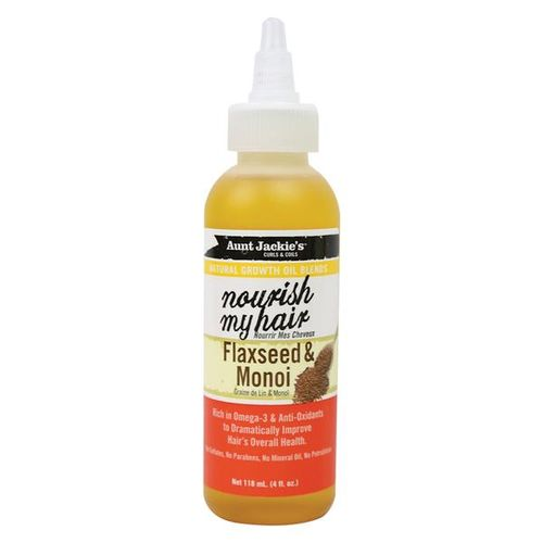 Aunt Jackie's Nourish My Hair - Flaxseed & Monoi Oil - 118ml