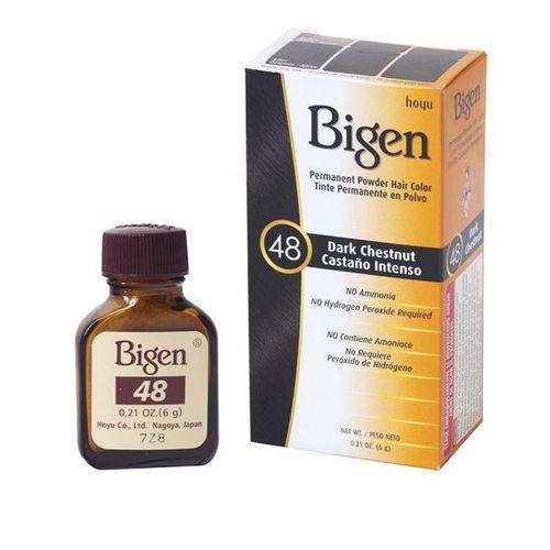 Bigen Permanent Powder Hair Colour - Dark Chestnut