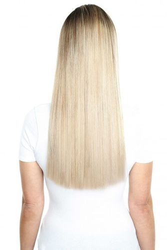 """Beauty Works Deluxe Clip-In Hair Extensions - Raven,18"""""""