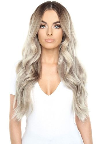 """Beauty Works Double Hair Set Clip-In Extensions - Honey Blonde,20"""""""