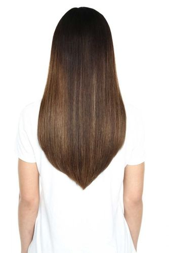 """Beauty Works Gold Double Weft Extensions - Jet Black,18"""""""