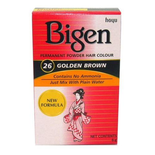 Bigen Permanent Powder Hair Colour - Golden Brown