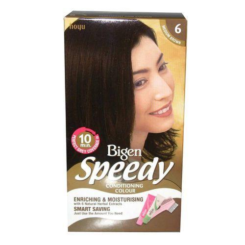 Bigen Women's Speedy Conditioning Colour - Medium Brown 6