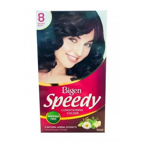 Bigen Women's Speedy Conditioning Colour - Natural Balck 8