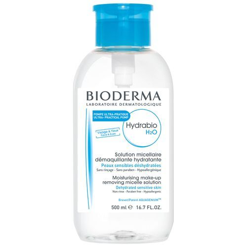 BIODERMA Hydrabio H2O Hydrating Micelle Solution with Reverse Pump