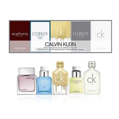 Calvin Klein Deluxe Fragrance Travel Collection Gift Set