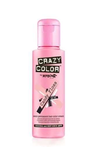 Crazy Color Semi Permanent Hair Color Cream - Candy Floss