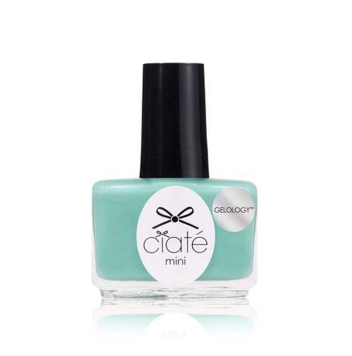 Ciaté Gelology Mini Nail Varnish Lacquer Polish 5ml - PPMG104 Pepperminty