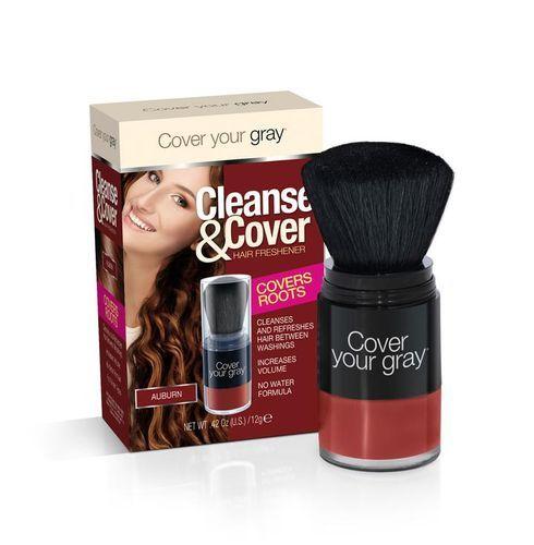 Cover Your Gray Cleanse & Cover Hair Freshener - 12g,Auburn