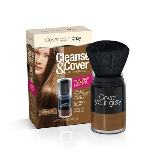 Cover Your Gray Cleanse & Cover Hair Freshener - 12g,Brunette