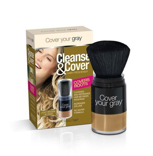 Cover Your Gray Cleanse & Cover Hair Freshener - 12g,Light Brown/blonde