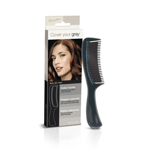 Cover Your Gray Color Comb - 10g,Black
