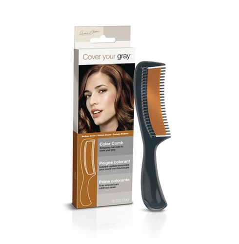 Cover Your Gray Color Comb - 10g,Medium Brown