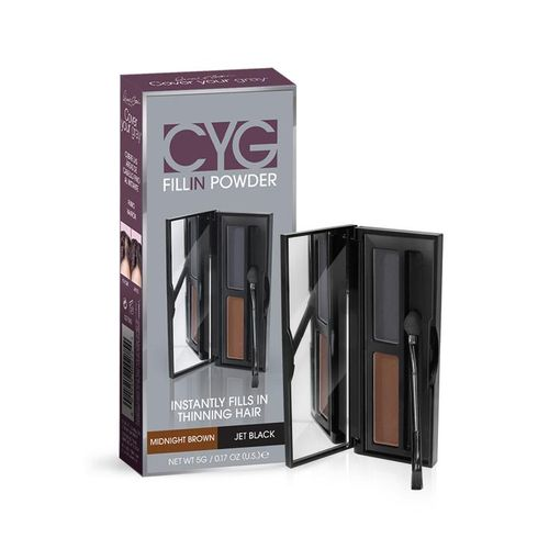 Cover Your Gray Fill In Powder Pro - 6.8g,Medium Brown/jet Black