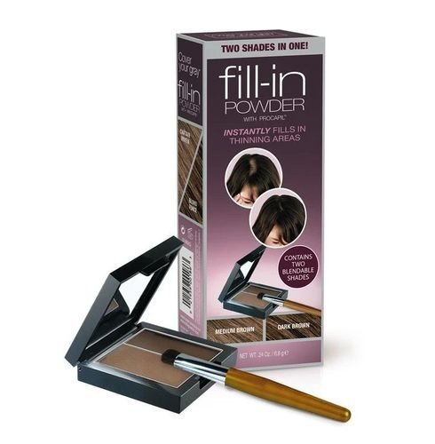 Cover Your Gray Fill-in Powder Two Shades In One - 6.8g,Medium Brown/dark Brown
