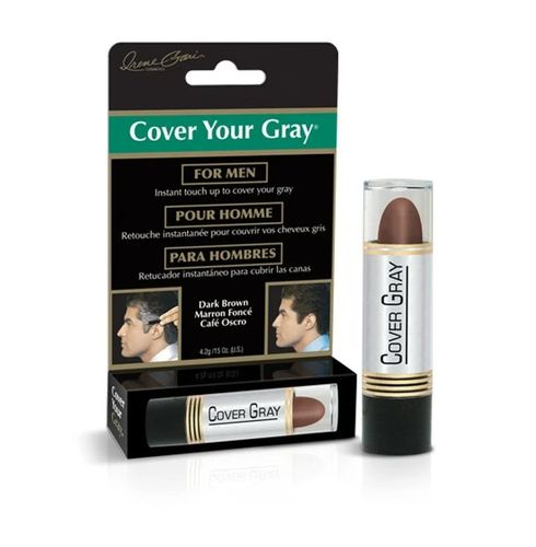 Cover Your Gray Men's Touch-up Stick - 4.2g,Dark Brown
