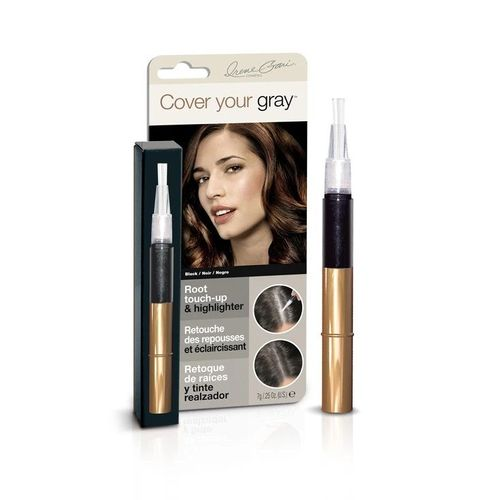 Cover Your Gray Root Touch-up & Highlighter - 7g,Black