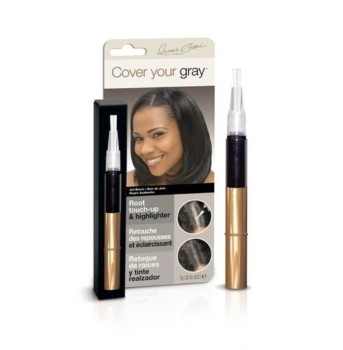 Cover Your Gray Root Touch-up & Highlighter - 7g,Jet Black