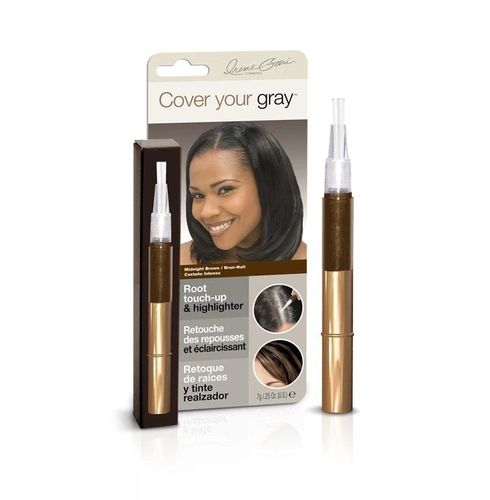Cover Your Gray Root Touch-up & Highlighter - 7g,Midnight Brown