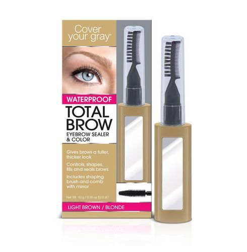 Cover Your Gray Total Brow Eyebrow Sealer & Color - 10g,Light Brown/blonde