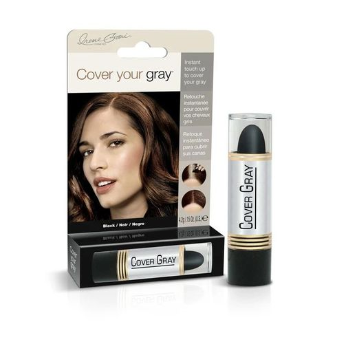 Cover Your Gray Touch Up Stick - 4.2g,Black