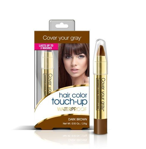 Cover Your Gray Waterproof Hair Color Touch Up Pencil - 2.9g,Dark Brown