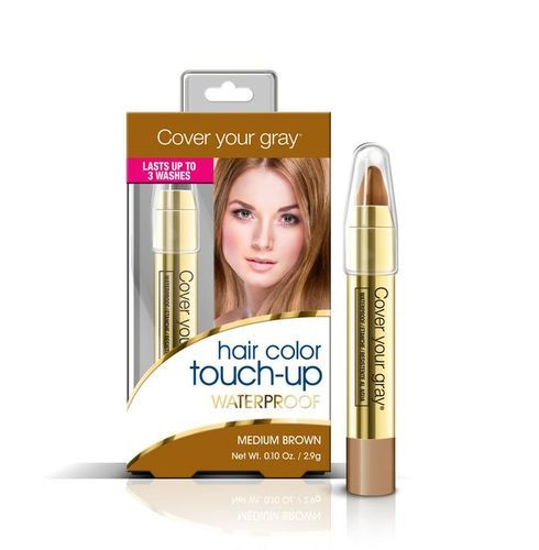 Cover Your Gray Waterproof Hair Color Touch Up Pencil - 2.9g,Medium Brown