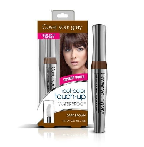 Cover Your Gray Waterproof Root Touch-up - 15g,Dark Brown