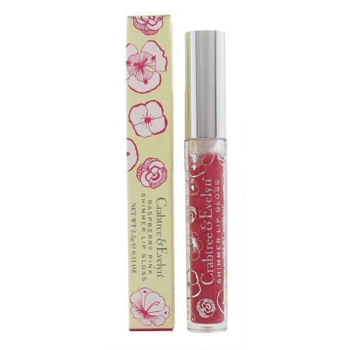 Crabtree & Evelyn Shimmer Lip Gloss - 3.2g Pink Raspberry