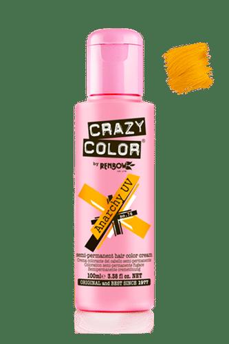 Crazy Color Semi Permanent Hair Color Cream - Anarchy Uv
